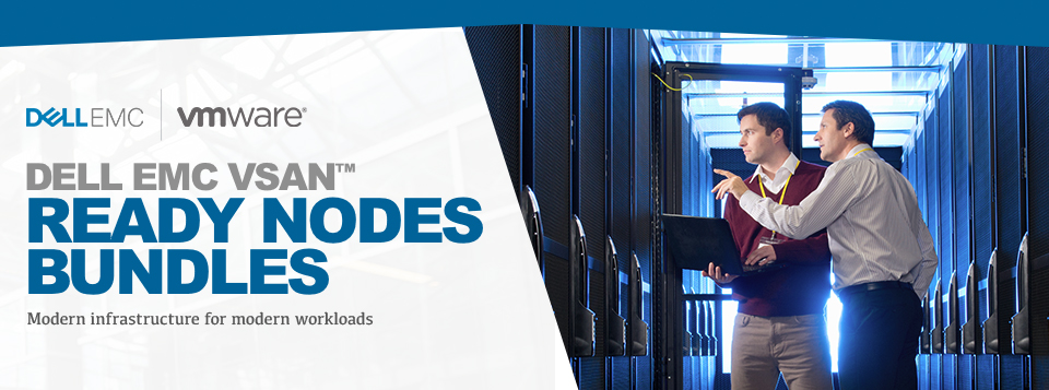 DELL EMC VSAN - Ready Nodes Bundles