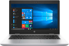 HP Inc. Smart Buy Probook 640 G4 8th Gen Intel Core + 3 Year 9X5 NBD HW Sup-Nb Only 3/3/0-Elec + 3 Year Managed Standard Only 1User Svc 3XJ59UT#ABA