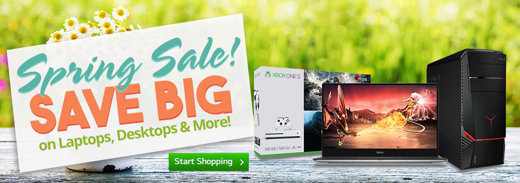 Spring Into Savings! Xbox One From $269 + Free Shipping!