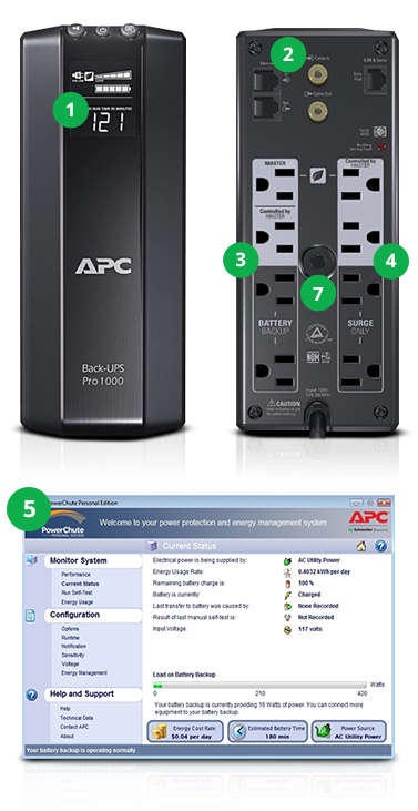 APC RS Back UPS pro products from PC Mall