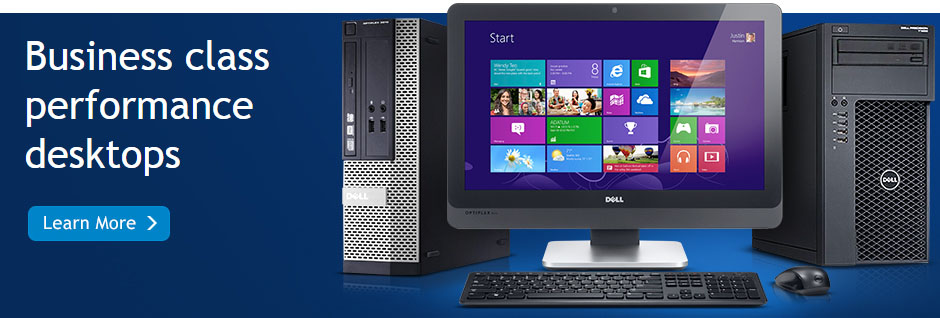 Dell Business class performance desktops