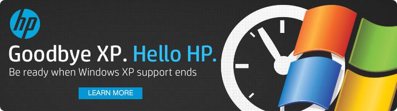 Goodbye XP Hello HP
