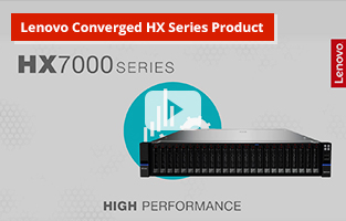 Lenovo Converged HX Series Product video