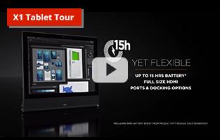 Lenovo X1 Tablet Tour video