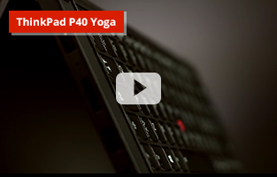 Lenovo ThinkPad P40 Yoga video