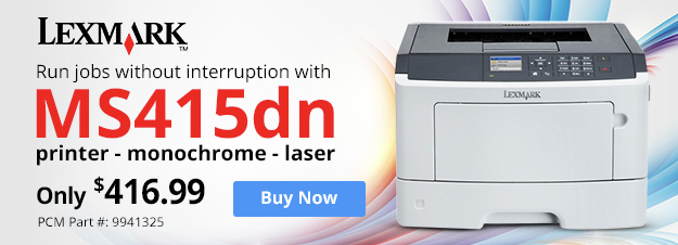 Lexmark MS415dn Printer-Monochrome-Laser
