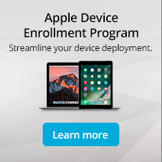 Apple Devie Enrollment Program