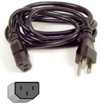PRO Series - Power cable - NEMA 5-15 (M) to IEC 320 EN 60320 C13 (M) - 6 ft