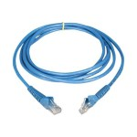 Cat6 Gigabit Snagless Molded Patch Cable (RJ45 M/M) - Blue, 5-ft.