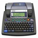 Brother P-Touch PT-9600 - Labelmaker - monochrome - thermal paper - Roll (1.42 in) - 360 dpi - up to 47.2 inch/min - capacity: 1 roll - USB, serial PT-9600