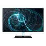 "Samsung Electronics Simple LED 23.6"" 1080p Monitor with Black w/ Blue ToC Finish S24D390HL"