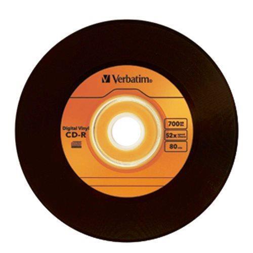 Macmall Verbatim Digital Vinyl Cd R 80min 700mb 10pk