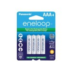 eneloop BK-4MCCA4BA - Battery 4 x AAA type NiMH 800 mAh