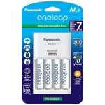eneloop K-KJ17MCA4BA - Battery charger - 7 hr - 4xAA/AAA - included batteries: 4 x AA type NiMH 2000 mAh - 300 mA