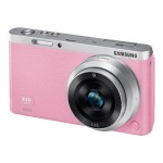 SMART Camera NX mini - Digital camera - High Definition - mirrorless system - 20.5 MP NX-M 9mm lens - Wi-Fi, NFC - pink