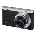 SMART Camera NX mini - Digital camera - High Definition - mirrorless system - 20.5 MP NX-M 9mm lens - Wi-Fi, NFC - black