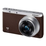 SMART Camera NX mini - Digital camera - High Definition - mirrorless system - 20.5 MP NX-M 9mm lens - Wi-Fi, NFC - brown