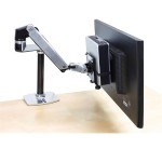 Ergotron Thin Client Mount - Mounting kit (holder, mounting hardware, strap) for personal computer - black - pole mount - for P/N: 45-353-026, 45-354-026 80-107-200