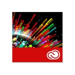 Creative Cloud desktop apps - Term License Subscription ( 2 years ) - 1 user - academic, FTE - EEA - 300+ level - 0 points - per month - Win, Mac - Multi North American Language