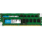 8GB Kit (4GBx2), 240-pin DIMM, DDR3 PC3-12800, ECC