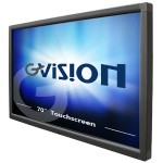 "70"" Class LED display - digital signage - with touchscreen - 1080p (Full HD) 1920 x 1080 - black"