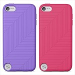 Belkin Flex Case - Case for player - silicone - paparazzi pink, volta (pack of 2) - for Apple iPod touch (5G) F8W142TTC01-2