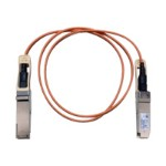 Direct-Attach Active Optical Cable - Network cable - QSFP+ to QSFP+ - 3.3 ft - fiber optic - SFF-8436 - active - beige - for Nexus 3064-32T, 3064-T, 3064-X