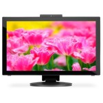 "23"" Multi-touch LED-Backlit Desktop Monitor with IPS Panel - Black"
