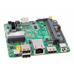 Next Unit of Computing Board DE3815TYBE - Motherboard - UCFF -  Atom E3815 - USB 3.0 - Gigabit LAN - onboard graphics - HD Audio