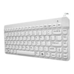 Man and Machine & Machine Slim Cool - Keyboard - USB - hygienic white SCLP/BKL/W5-LT