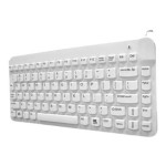 Man and Machine & Machine Slim Cool - Keyboard - USB - hygienic white SCLP/BKL/W5