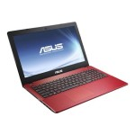 """R510CA-LH91T - Pentium 2117U / 1.8 GHz - Win 8 64-bit - 4 GB RAM - 500 GB HDD - DVD-Writer - 15.6"""" touchscreen 1366 x 768 ( HD ) - HD Graphics - red - with 32 GB  WebStorage (3 years)"""