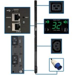 PDU Monitored Vertical 7.4kW 230V 32A (36 C13 & 6 C19) IEC-309 32A 10ft Cord 0URM