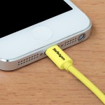 1m (3ft) Yellow Apple 8-pin Lightning Connector to USB Cable for iPhone / iPod / iPad