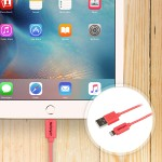 1m (3ft) Pink Apple 8-pin Lightning Connector to USB Cable for iPhone / iPod / iPad
