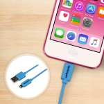 1m (3ft) Blue Apple® 8-pin Lightning Connector to USB Cable for iPhone / iPod / iPad