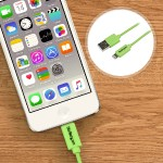 1m (3ft) Green Apple 8-pin Lightning Connector to USB Cable for iPhone / iPod / iPad