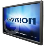 "32"" Class LED display - digital signage - with touchscreen - 1080p (Full HD) 1920 x 1080 - black"