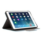 TurnFolio - Flip cover for tablet - blue - for Apple iPad Air