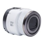 PIXPRO Smart Lens SL25 - Digital camera - High Definition - 30 fps - smartphone attachable - 16.76 MP - 25 x optical zoom - Wi-Fi, NFC - white