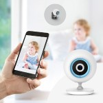 DCS 820L Day/Night Wi-Fi Baby Camera - Network surveillance camera - color (Day&Night) - 640 x 480 - audio - wireless - Wi-Fi - H.264 - DC 5 V