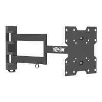 "TrippLite Display TV Wall Monitor Mount Arm Swivel/Tilt 14"" to 42"" TVs / EA / Flat-Screens - Wall mount for LCD / plasma panel - steel - black - screen size: 17""-42"" DWM1742MA"