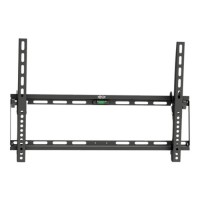 "TrippLite Display TV LCD Wall Monitor Mount Tilt 32"" to 70"" TVs / EA / Flat-Screens - Wall mount for LCD display (Low Profile Mount) - steel - black - screen size: 32""-70"" DWT3270X"