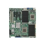 SUPERMICRO H8DIi+-F - Motherboard - extended ATX - Socket F - 2 CPUs supported - AMD SR5690/SP5100 - 2 x Gigabit LAN - onboard graphics