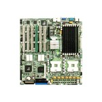 Super Micro SUPERMICRO X6DH8-XB - Motherboard - extended ATX - Socket 604 - 2 CPUs supported - E7520 - 2 x Gigabit LAN - onboard graphics MBD-X6DH8-XB-O