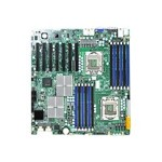 SUPERMICRO X8DTH-6 - Motherboard - extended ATX - LGA1366 Socket - 2 CPUs supported - i5520 - 2 x Gigabit LAN - onboard graphics