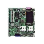 Super Micro SUPERMICRO X6DHE-G2+ - Motherboard - ATX - Socket 604 - 2 CPUs supported - E7520 - 2 x Gigabit LAN - onboard graphics MBD-X6DHE-G2+-O