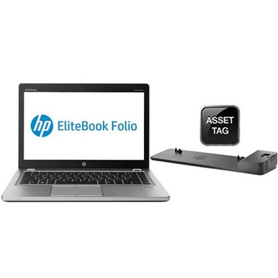 HP Smart Buy EliteBook Folio 9470m Intel Core i5-3437U Dual-Core 1.90GHz Ultrabook - 4GB RAM, 256GB SSD, 14.0