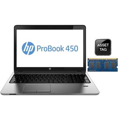 HP Smart Buy ProBook 450 Intel Core i3-4000M 2.40GHz Notebook - 4GB RAM, 500GB HDD, 15.6