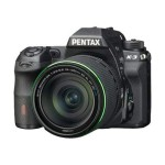 Pentax K-3 - Digital camera - SLR - 23.35 MP - 7.5x optical zoom DA 18-135mm WR lens - black